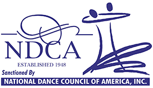 National Council of Dance Teacher's Organization of America (NDCA) Logo