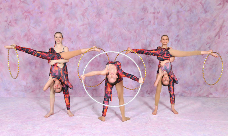Acro and Tumbling at the Performing Arts Dance Studio & Acting School Methuen